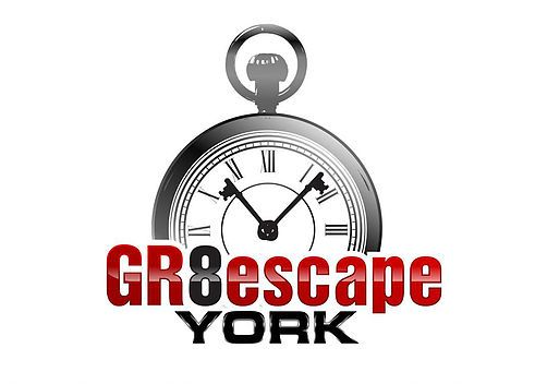 GR8escape York - Live escape room York - logo